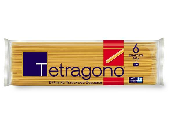TETRAGONO ΜΑΚΑΡΟΝΙ Νο 6 500γρ (12) - Κωδ. 1728001