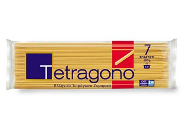 TETRAGONO ΜΑΚΑΡΟΝΙ Νο 7 500γρ (12) - Κωδ. 1728003