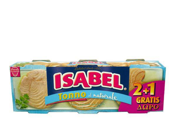 ISABEL ΤΟΝΟΣ ΣΕ ΝΕΡΟ 160γρ (2+1) - Κωδ. 3402041
