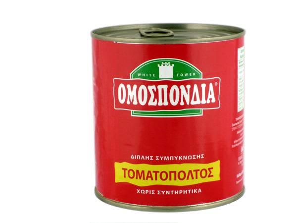 OMOSPONDIA TOMATO PASTE DOUBLE CONCENTRATED  28-30% 800g - Code 4302010