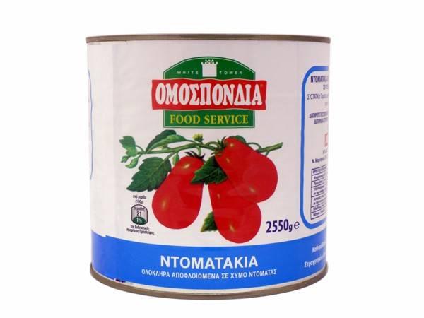 OMOSPONDIA WHOLE PEALED TOMATOES CAN 2500g - Code 4303006