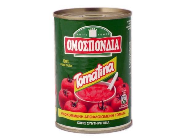 OMOSPONDIA CHOPPED TOMATOES CAN 400g - Code 4304001
