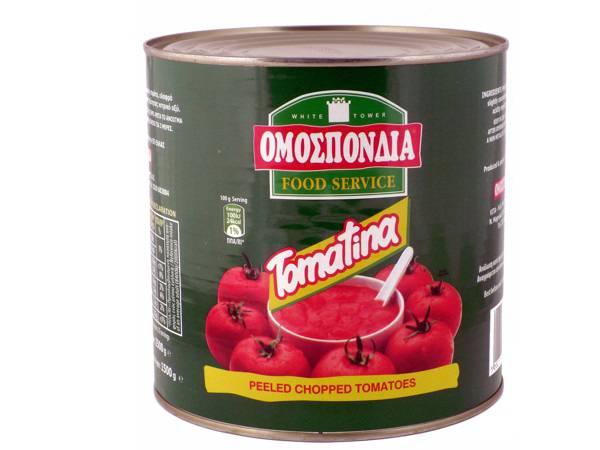 OMOSPONDIA CHOPPED TOMATOES CAN 2500g - Code 4304006