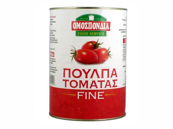 OMOSPONDIA FINE TOMATO PULP 5Kg - Code 4304031