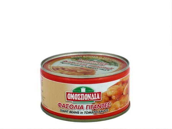 OMOSPONDIA GIANT BEANS IN TOMATO SAUCE CAN 280g - Code 4321001