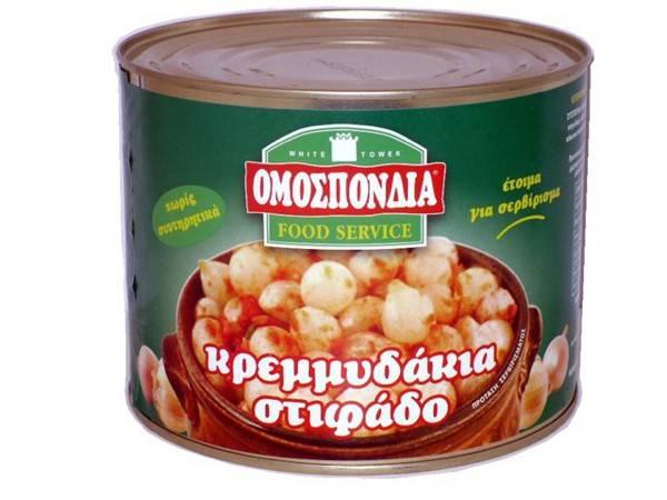 OMOSPONDIA STIFADO CAN 2kg - Code 4322010