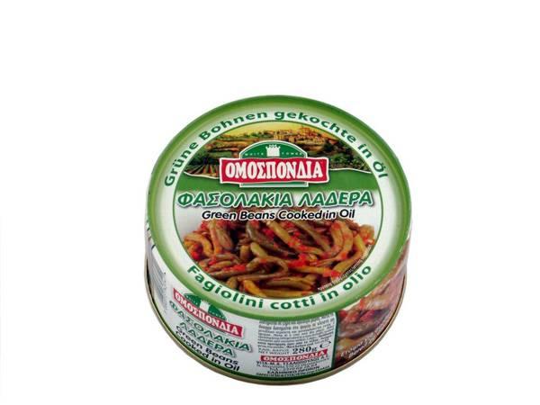 OMOSPONDIA GREEN BEANS IN TOMATO SAUCE 280g - Code 4328001