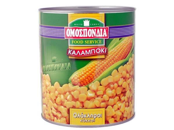 OMOSPONDIA CORN NATUREL CAN 2950g - Code 4345001