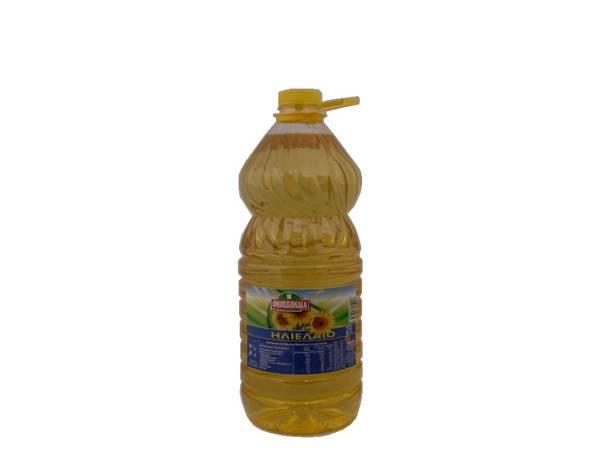 OMOSPONDIA SUNFLOWER OIL 5lt PET - Code 4356001