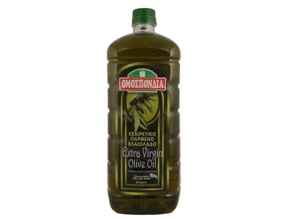 OMOSPONDIA EXTRA VIRGIN OLIVE OIL 2lt PET - Code 4366010