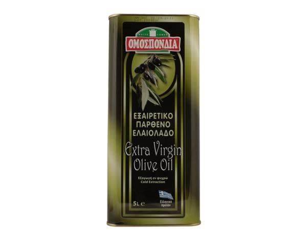 OMOSPONDIA EXTRA VIRGIN OLIVE OIL 5lt - Code 4367001