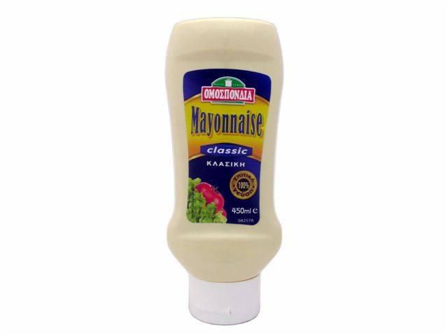 OMOSPONDIA MAYONNAISE TOP DOWN 450ml - Code 4374001