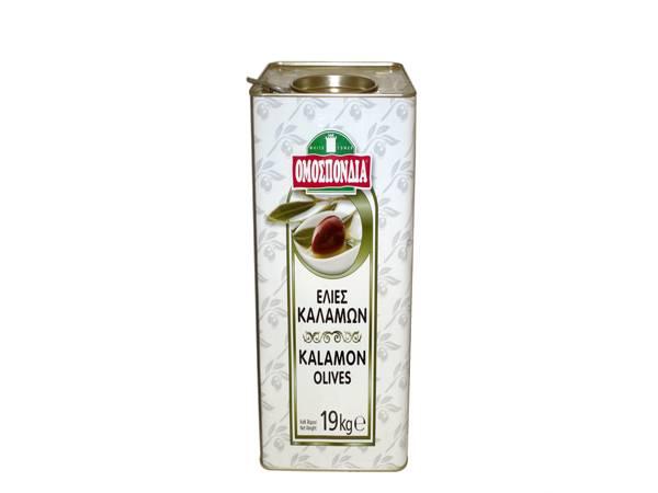 OMOSPONDIA OLIVES KALAMON 121-140 13Kg - Code 4369001