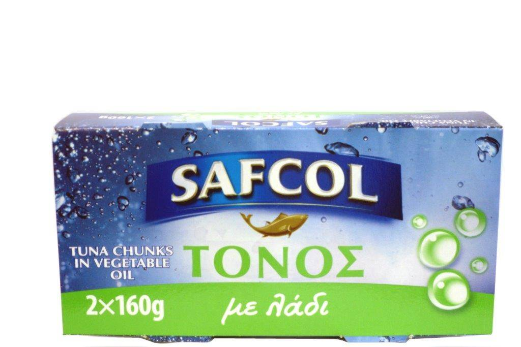 05-07-030 SAFCOL ΤΟΝΟΣ ΣΕ ΛΑΔΙ 2X160gr