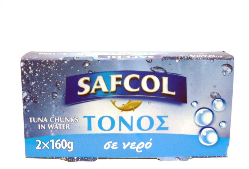 05-07-031 SAFCOL ΤΟΝΟΣ ΣΕ ΝΕΡΟ 2X160gr